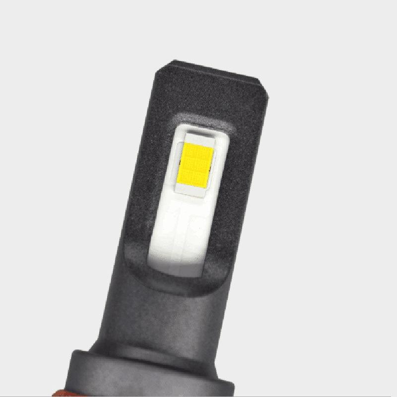 SUNYDEAL LED Headlight Car Accessories LED Fog Light 9600LM Hi/Lo Beam H4 H1 H7 Auto Led Head light Car Lamps Mini8 COB Bulbs - 4