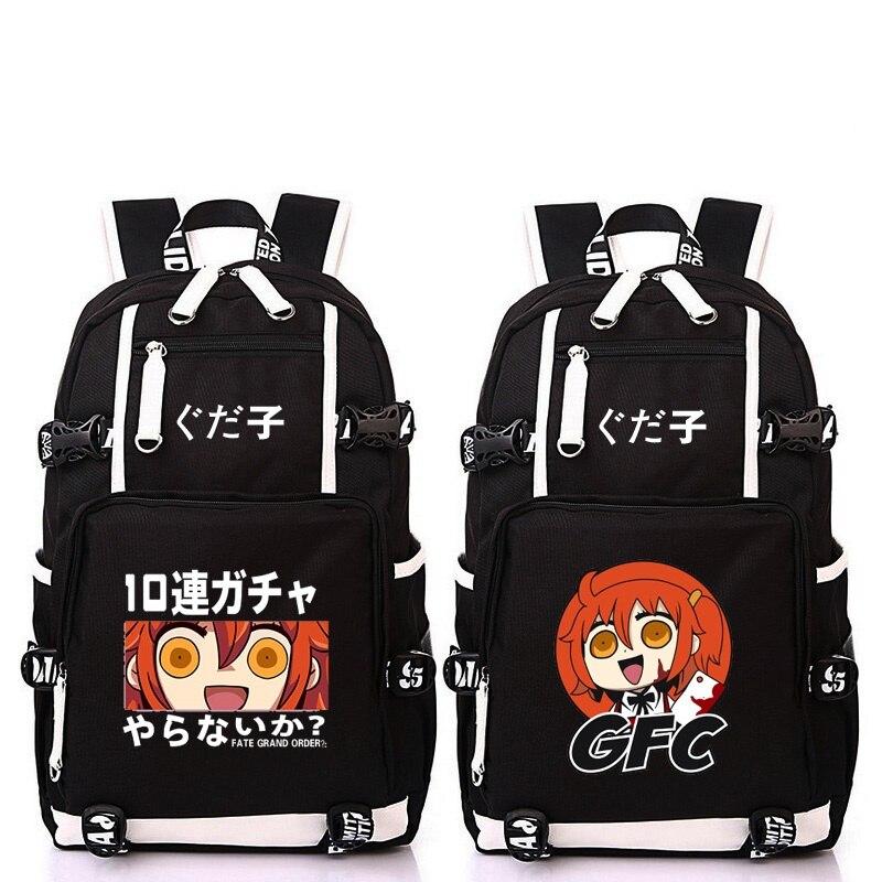 High-Q Unisex Anime Fate grand order backpack teenagers unisex Fate Fujimaru Ritsuka large capacity cosplay backpackHigh-Q Unisex Anime Fate grand order backpack teenagers unisex Fate Fujimaru Ritsuka large capacity cosplay backpack