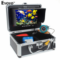 Eyoyo 15M 30M 1000TVL Fish Finder Underwater Fishing 7inch Video Camera Monitor AntiSunshine Shielf Sunvisor Infrared