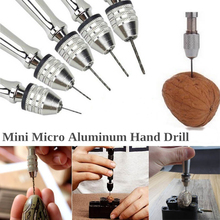 EDC GEAR Mini Micro Wood Spiral Hand Drill outdoor Survival tools Jewelry  accessories Repair Tools