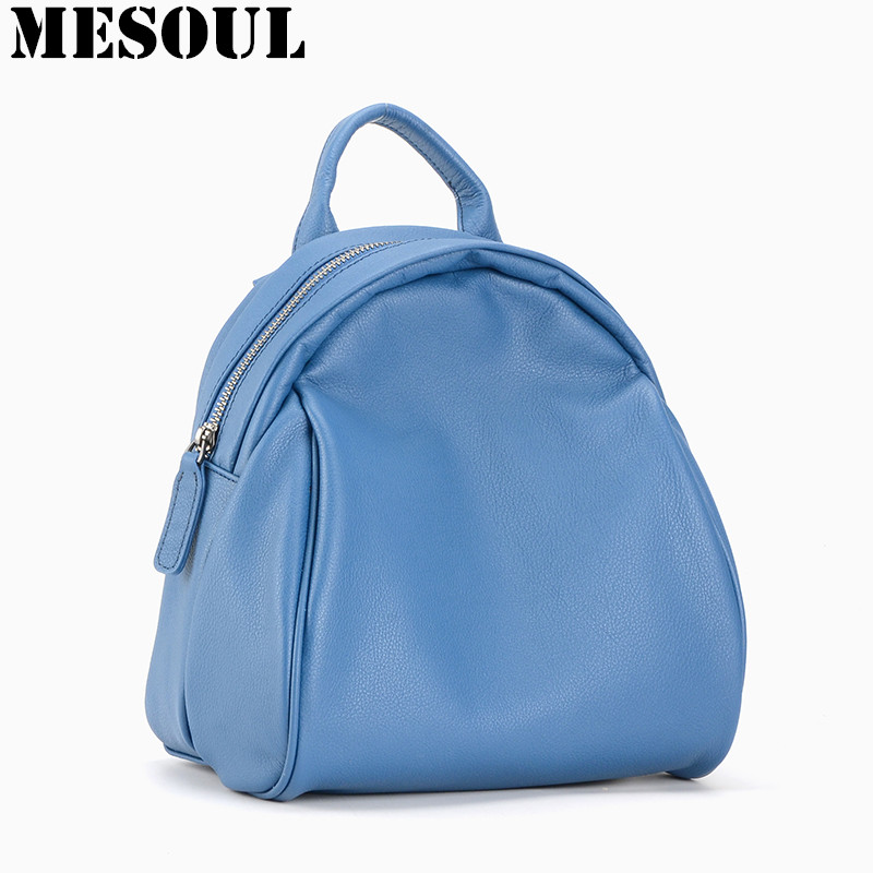 Brand Backpack Schoolbag Women Genuine Leather Bags Fashion Travel Shoulder Bag Female Natural Soft Cowhide School Backpack Girl new 2016 women backpack genuine leather fashion bag backpack women leisure college wind cowhide backpack girl school