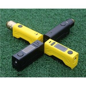 Image 5 - Original Smoant battlestar mini Mod 80W TC TCR mode box mod vape battlestar electronic cigarette mod 18650 vapor Vaporizer