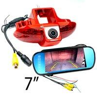 CCD HD car Brake Light Rear view camera For Renault Trafic(2001 2014),Combo/Vauxhall Vivaro Van brake camera & car monitor kit