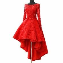 ANTI Luxury 2017 Cocktail Dresses Beaded Crystals High Low Robe De Vestidos De Coctel Evening Party Gowns For Graduation Novias