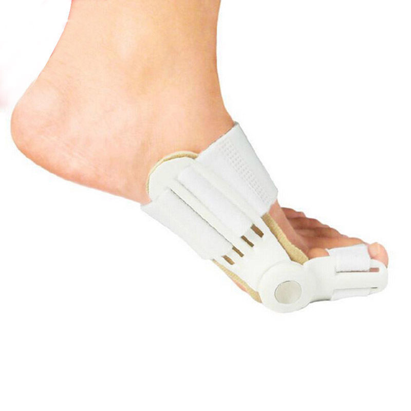 Dedo gordo Del Pie Juanete Splint Straightener corrector Foot Pain Relief Hallux Valgus Unisex Ortopédicos suministros Herramienta Del Cuidado de Pie