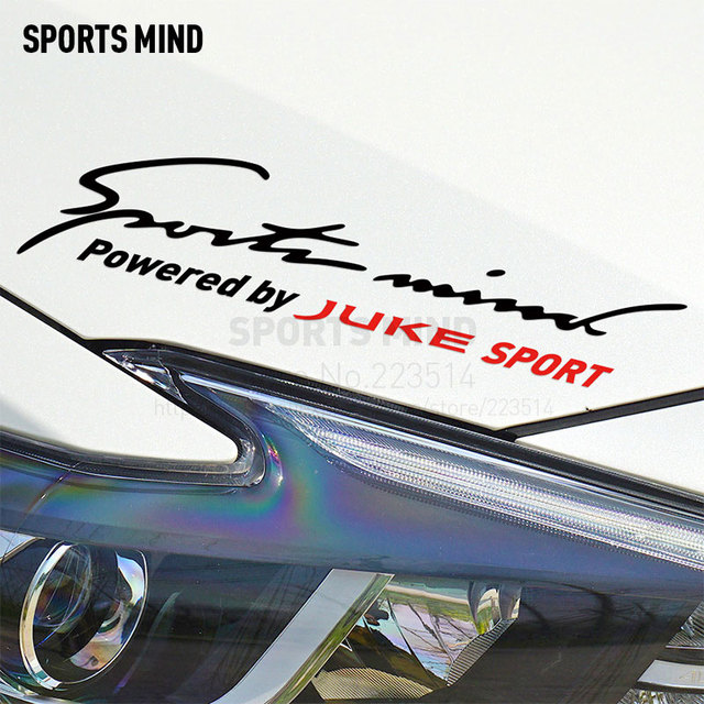 Sports Mind Car Styling On Car Lamp Eyebrow Sport Entertainment Car