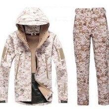 Outdoor waterproof camping hiking Jackets pants set V5.0 Sof