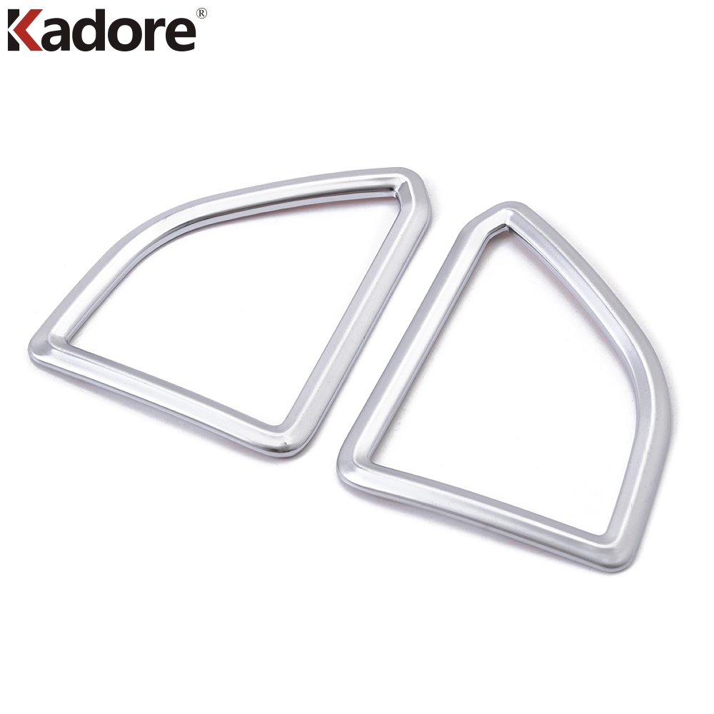 For Ford Edge 2015 Matte ABS Chrome Interior Front Up Air