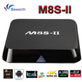 M8S II 4K Andorid 5.1 TV Box Amlogic S905 Quad-Core 2G 8G 2.4/5G WIFI KODI 16.0 1000M LAN Media Player H.265 BT4.0 M8S+ M8S-II