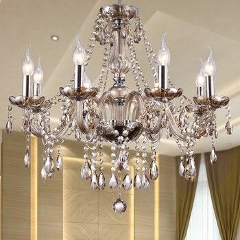 Crystal Chandelier Lighting Luxury Glass Chandeliers Lamp