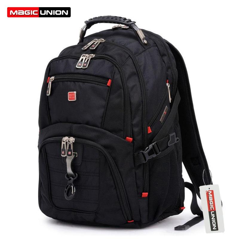 Laptop Backpack Luggage Travel-Bags Oxford Magic Union Man's Mochila Masculina 15inch