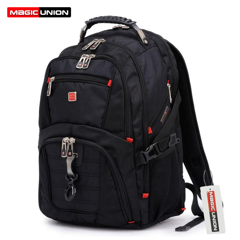 MAGIC UNION Oxford Lelaki Backpack Laptop Mochila Masculina 15 Inch Man's Ransel Lelaki Luggage & Travel bags Wholesale