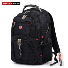 Magic union oxford hombres laptop mochila mochila masculina 15 pulgadas mochilas hombres de equipaje y bolsas de viaje del hombre al por mayor