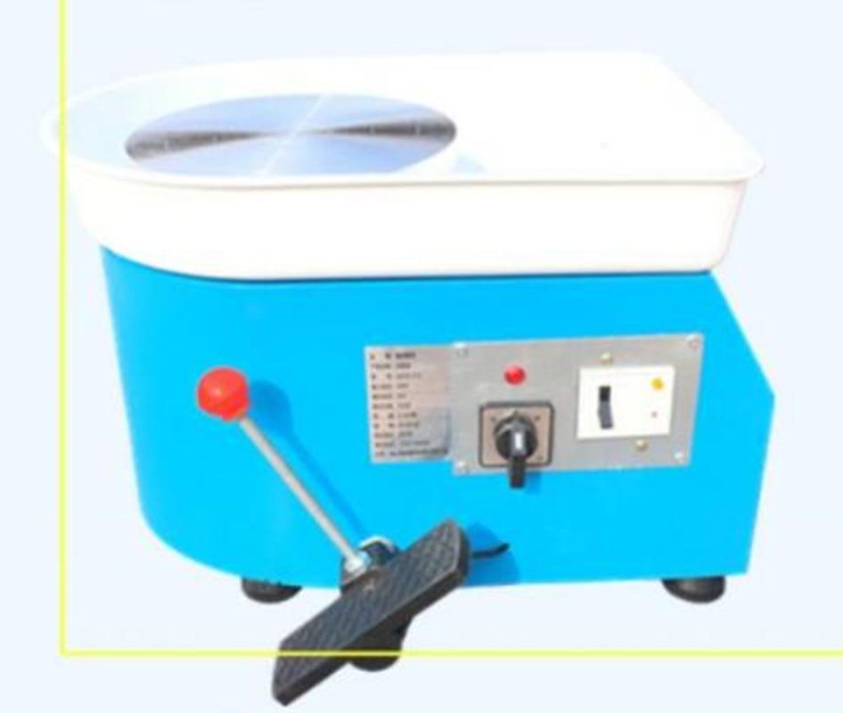 220 v 250 w 25 cm EU Plug poterie roue Machine accessoire pour le travail en céramique céramique argile bricolage outil poterie équipement