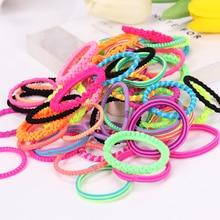 Headband Hair-Accessories Elastic-Hair-Bands Women Cute Girl Child 60PCS Tie-Gum Rubber