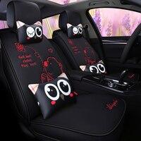 pu leather cartoon car seat cover auto seats covers for ford mondeo mk3 kia sportage 2018 mercedes w124 land cruiser 100 chevro