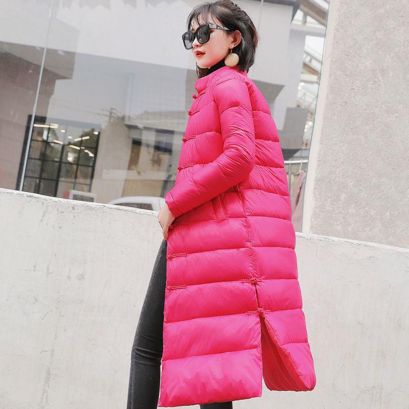 Solide Slim Vent Poitrine Pink New Longues Chaud Ba08 Manteau Veste Unique red Coton black Survêtement 2018 Chine Parkas Couleur Femmes Mode Blue De royal YYAwPZ