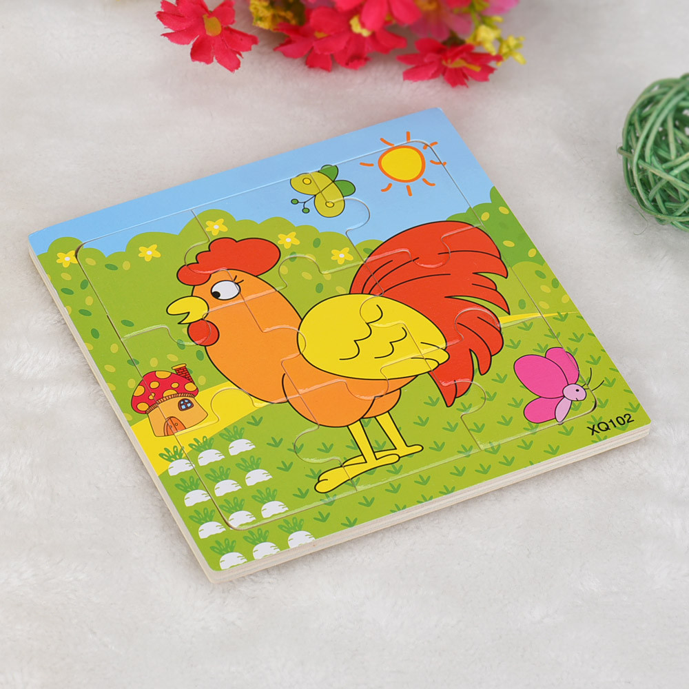 Деревянные головоломки Развивающие игрушки Развивающие детские игрушки ребенок Раннее Обучение игры Хой sale18mar13