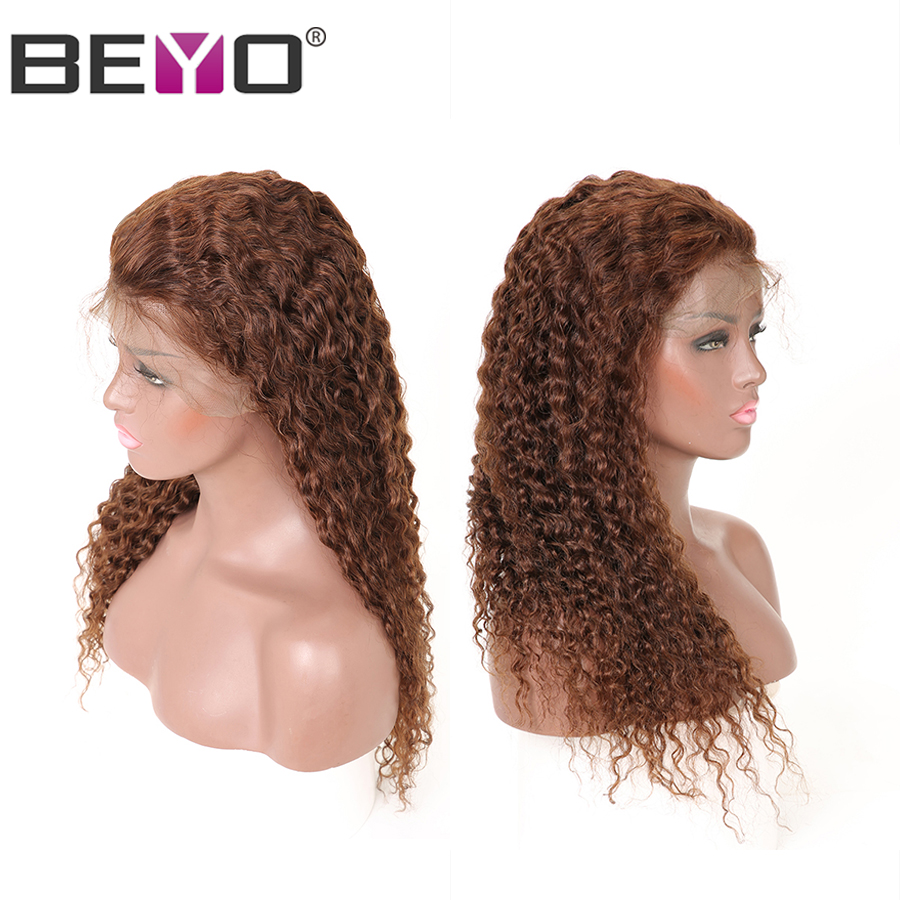 13X4 Brazilian Water Wave Lace Front Wig Lace Front Human Hair Wigs For Black Women 4