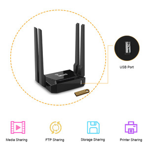 Image 2 - Cioswi CSW WR146/WE3826 wifi router wireless repeater long range for 4g wifi usb modem rj45 support zyxel keenetic omni2 booster