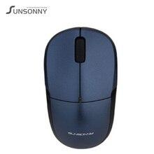 New Sunsonny S-R1 IMP Wireless USB 2.4Ghz Mouse 1600DPI Desktop Gaming Computer Office Home Laptop Intelligent Power Saving Mice