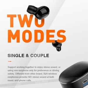 Image 5 - Sanlepus tws 5.0ミニbluetoothイヤホンワイヤレススポーツヘッドフォン3Dステレオヘッドセットとマイク