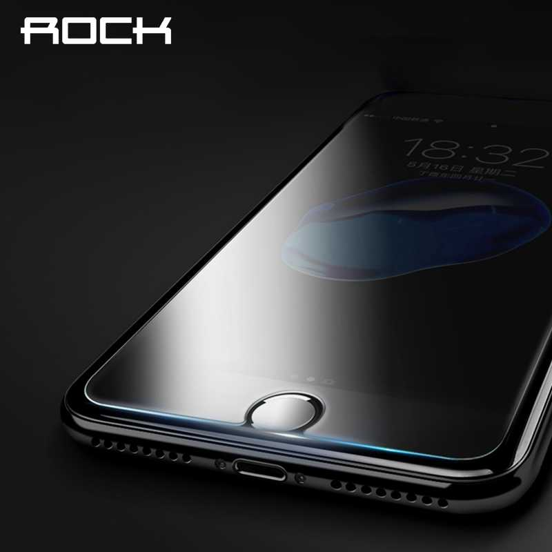 Protecteur d'écran de protection ROCK pour iPhone 6 6s 7 8 plus 5s 5 SE XS Max XR X verre trempé Transparent pour iPhone 10 9 8 7
