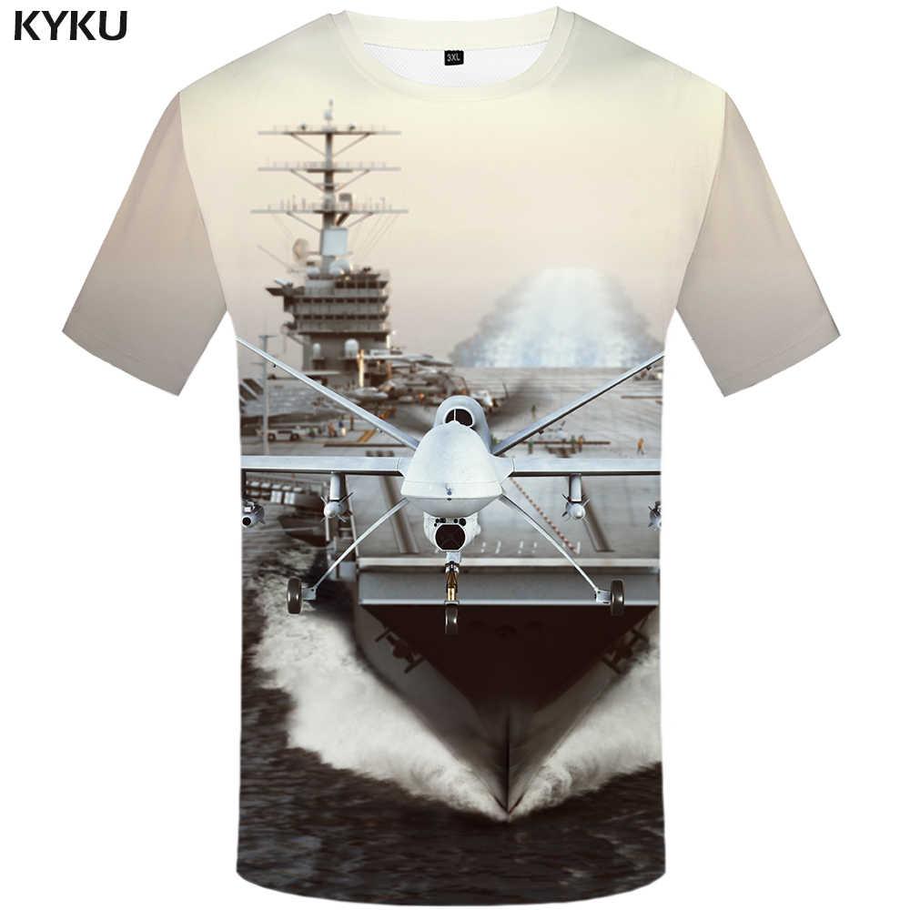 KYKU แบรนด์ Earth T เสื้อผู้ชาย Space Tshirt Moon 3d เสื้อยืด Hip Hop Tee Cool Mens เสื้อผ้า 2018 ฤดูร้อนใหม่ลำลองแขนสั้น 4xl