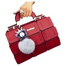 Для женщин известных брендов шовный Бостон сумка склонны плечо женская сумка Для женщин Искусственная кожа Сумочка женские сумки