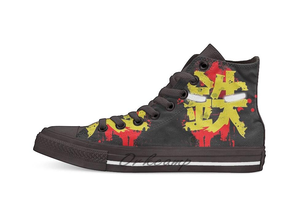 Железная Новинка; дизайнерская Повседневная парусиновая обувь; обувь на заказ; Прямая доставка