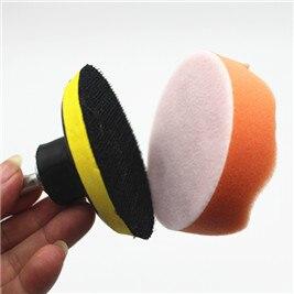 100 pc / rinkinys 80 mm automobilio poliravimo buferio pagalvėlės, - Elektriniai įrankiai - Nuotrauka 6