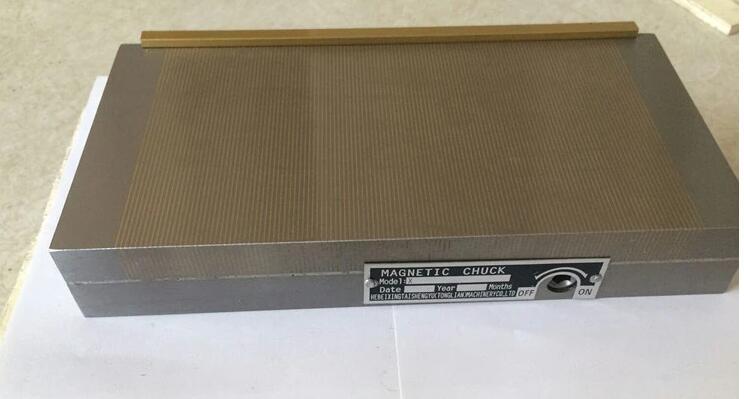 Panne dense puissante de ventouse à aimant permanent XM91-150X450MM ventouse à mandrin magnétique Permanent