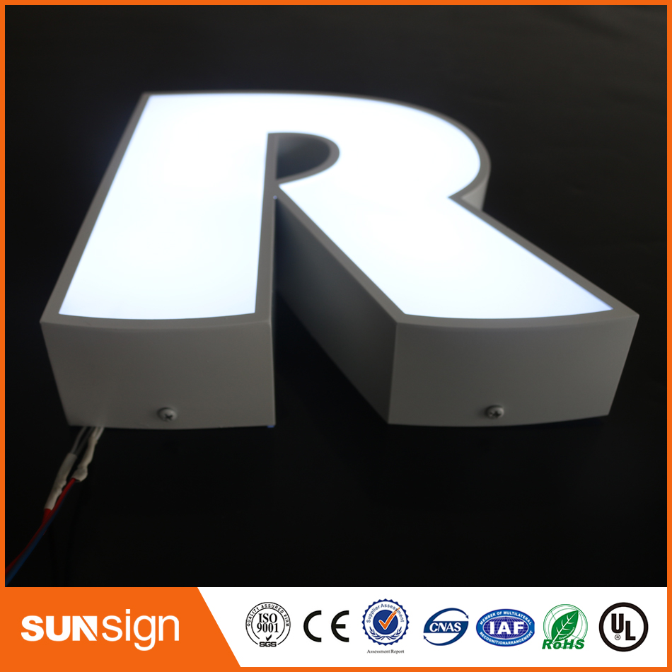 2016 Led Letter Sign, Acrylic Led Channel Letter, Outdoor/indoor Led Logo