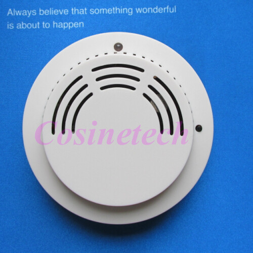 wireless FSK 868MHZ smoke sensor for 868MHZ alarm systems,433MHZ fire alarm smoke detector for home security alarm main units