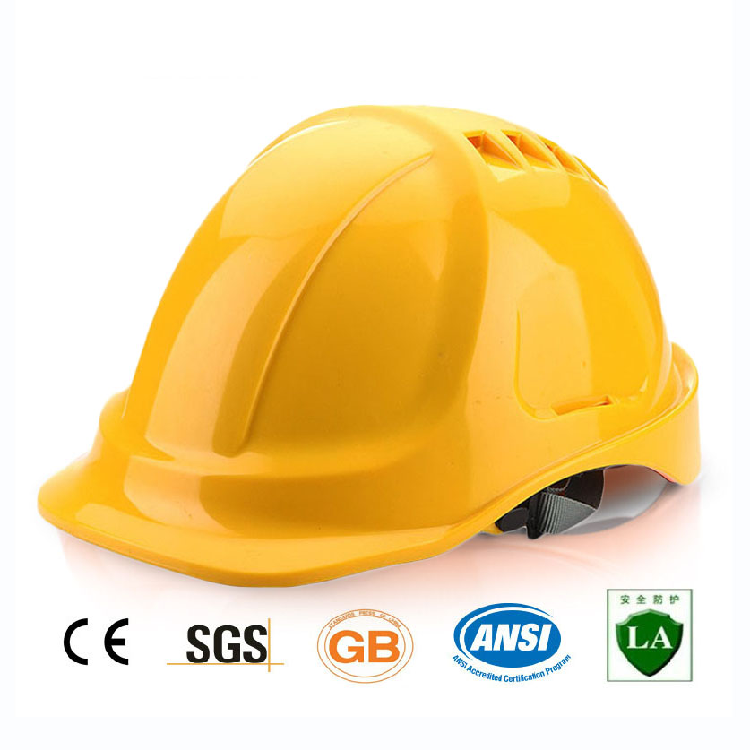 Safety Helmet Protective Hard Hat ABS Material Construction Hat Work Cap High Quality Breathable Engineering Power Labor Helmet цена