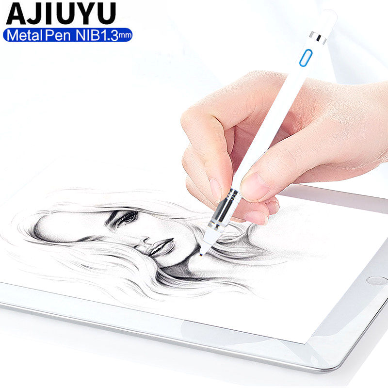 High precision Active Pen Stylus Capacitive Touch Screen For Xiaomi Mi Pad 3 2 1 mipad mipad2 MiPad3 Tablet Case NIB 1.3mm Pen