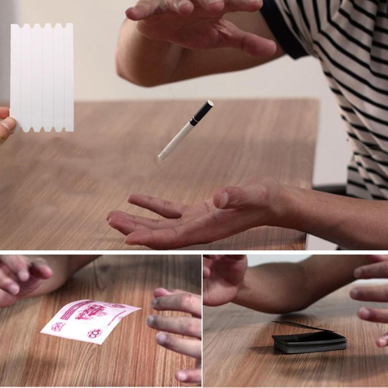 New 1Pcs Funny Elastic Stretch Invisible Hidden Coil Thread Loops Haunted Magic Trick Float Children Magic Performing Props