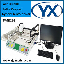 High Speed SMD Placement Machine TVM802B-S 46Feeders Pick and Place Machine Manufacturer With BGA Repair Station