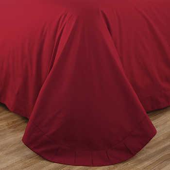 ผ้าไหมหรูผ้าฝ้ายชุดเครื่องนอนชุด Queen King Super King ขนาดเตียงชุดผ้านวมผ้าคลุมเตียง parure de lit ผู้ใหญ่ ropa de cama