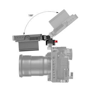 Image 5 - SmallRig Quick Release Camera EVF Monitor Holder Swivel 360 degree & Tilt 150 degree Swiveling Monitor Mount w/ Nato Clamp 2347