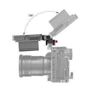 Image 5 - SmallRig Quick Release Kamera EVF Monitor Halter Swivel 360 grad & Tilt 150 grad Schwenkbare Monitor Montieren w/ Nato clamp 2347