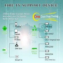 Caixa de iptv com 1 ano assinatura iptv livre 2500 França portugal bélgica espanha apoio caps Android box/iptv m3u /ENIGMA2/Mag 250