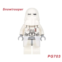 PG703 Imperial Snowtrooper Commander SW580 Star Wars Action Figures Building Blocks Education Children Toys Single Sale