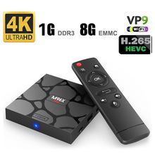 M96X mini Smart TV box Android 7.1 S905W Quad core 2G Ram 16G Rom 2.4G/5G Dual Wifi Bluetooth 4K H.265 TV Set-Top Box OTT BOX 1pcs free ship high hd csa90 2g 16g andriod 5 1 smart tv box remote control octa core rk3368 4k 2 0
