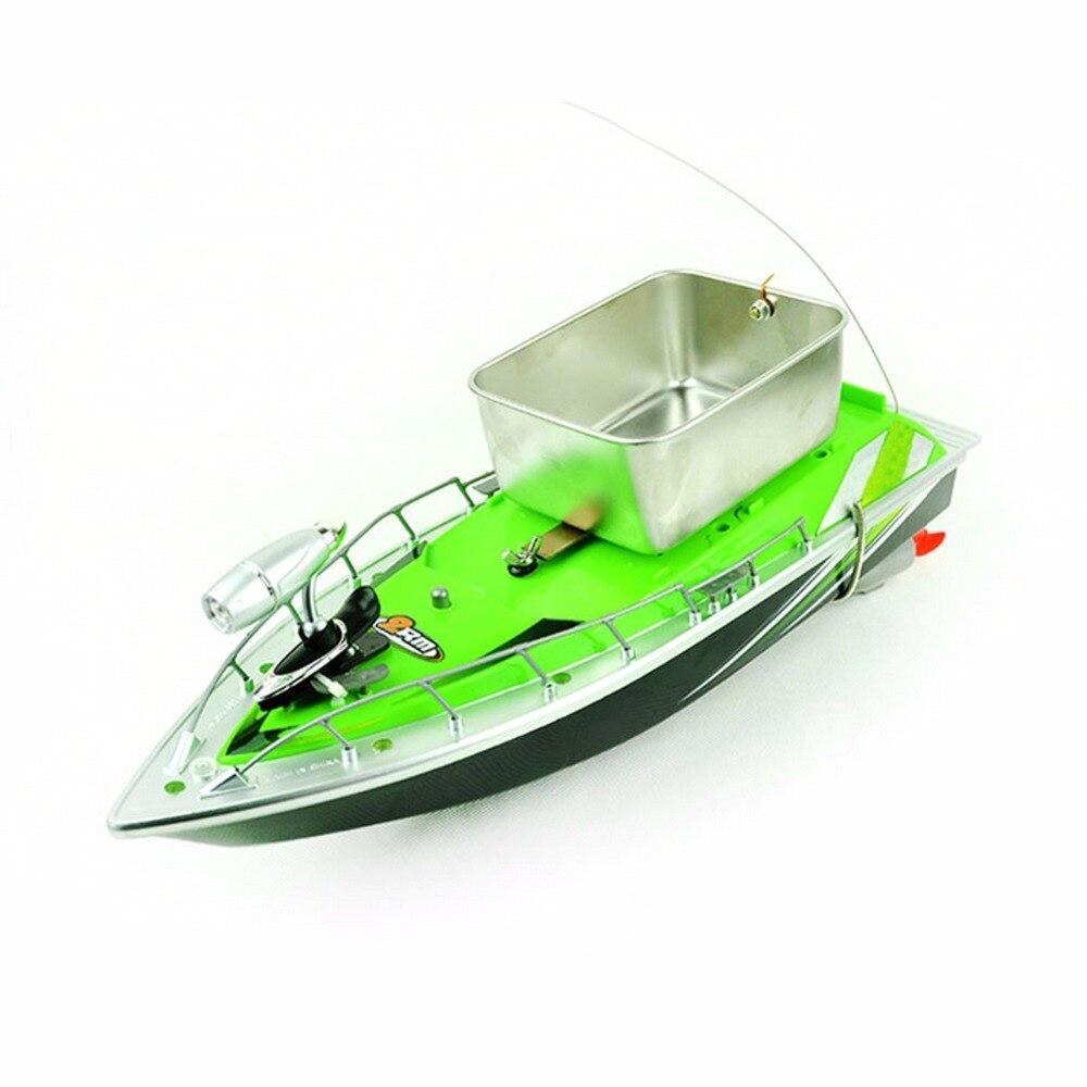 Bateau télécommandé mis à jour poisson finder bateau jouets pour enfants adulte 300 m anti herbe vent haute vitesse mini rapide rc appâts de pêche - 6