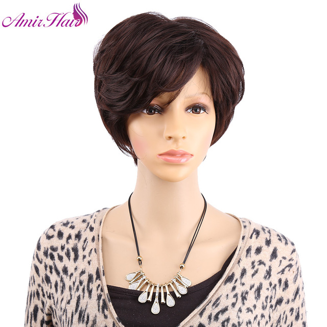 Perruque femme cheveux naturel