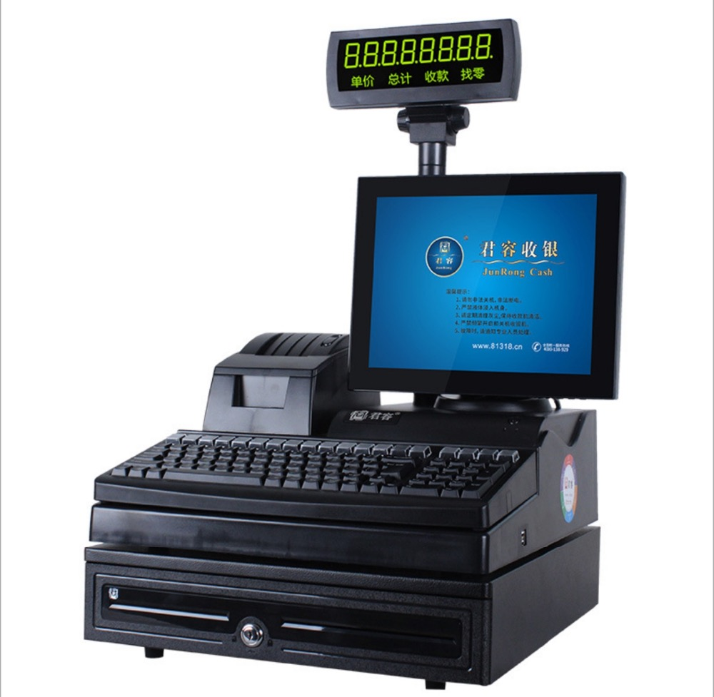 "12"" Free Software SDK Dual Screen Touch Screen Android Tablet PC Termina POS System Cash Register Machines With Wifi,3G"