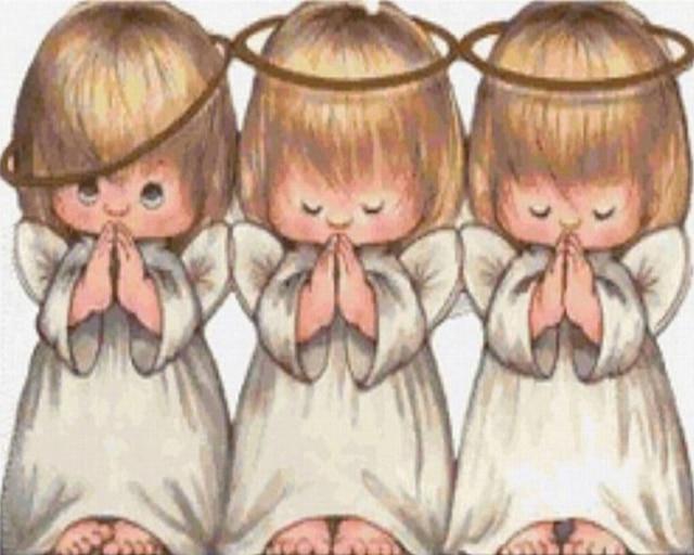 aliexpresscom buy new diamond embroidery angels 3 cute