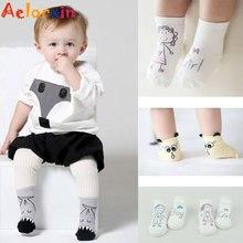 Newborn Cotton Cute Cartoon Baby Boy Girl Socks Infant Animal Anti Slip Unisex Toddler Socks Soft Warm Casual Floor Socks