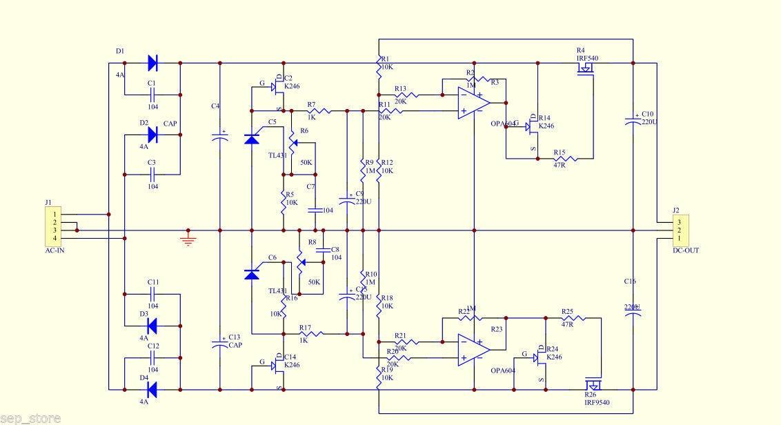 GZLOZONE Standard POWER-02 Adjustable Pre-linear Power Supply Kit For  Preamp PSU DIY